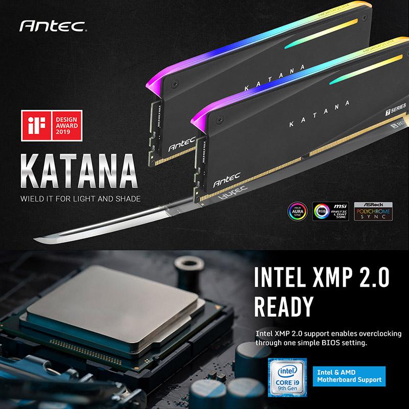 Antec KATANA DDR4 3600MHz 8GBx2 (AM4U36188G11-7DKR)