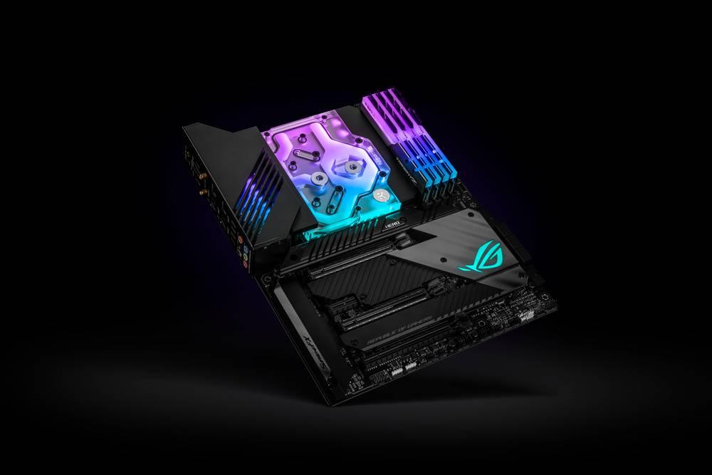 EK WaterBlocks EK-Quantum Momentum ROG Maximus XIII Hero D-RGB - Plexi