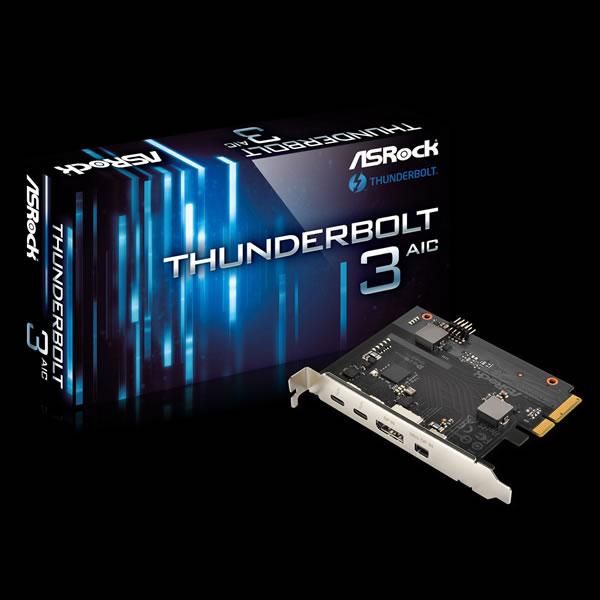 ASRock Thunderbolt 3 AIC Thunderbolt 3 カード
