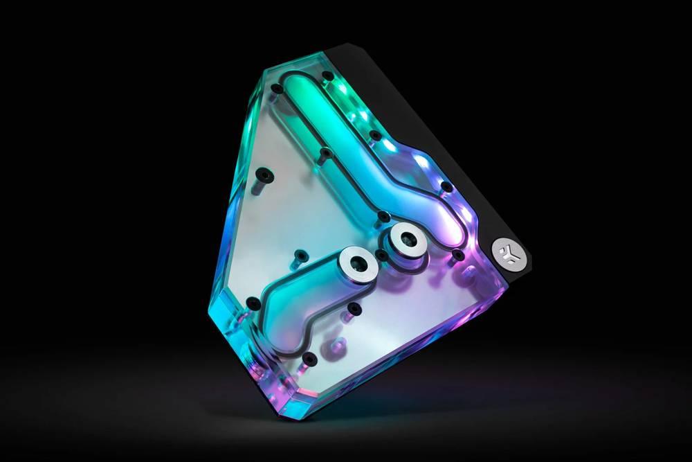 EK WaterBlocks EK-Quantum Momentum VRM Bridge ROG Crosshair VIII Formula D-RGB -Plexi