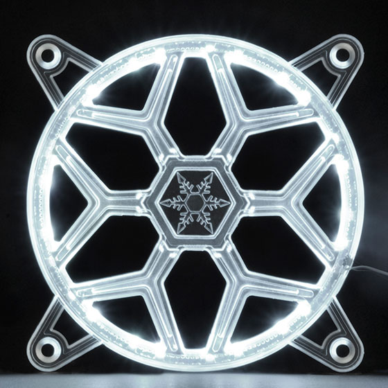 SilverStone FG121 RGB LED内蔵ファングリル 12cm用 (SST-FG121)