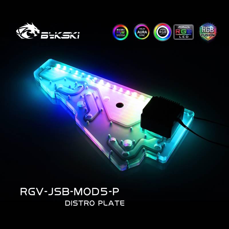 Bykski RGV-JSB-MOD5-P DISTRO PLATE JONSBO MOD5 chassis