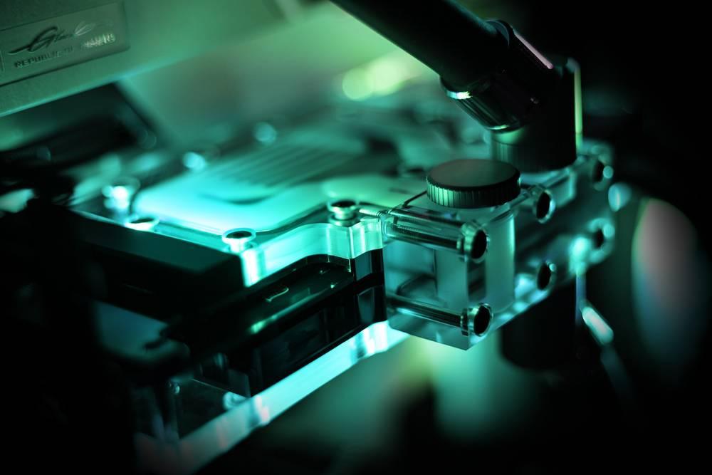 EK WaterBlocks EK-Quantum Vector Trinity RTX 3080/3090 Active Backplate D-RGB - Plexi