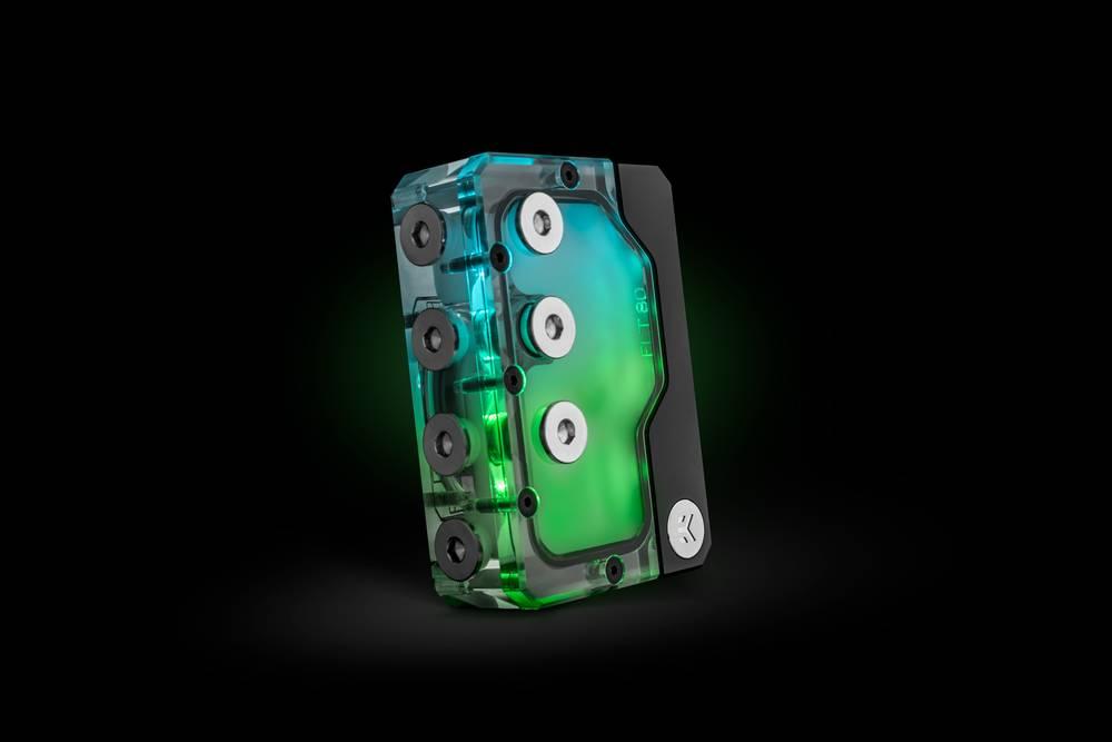 EK WaterBlocks EK-Quantum Kinetic FLT 80 DDC PWM D-RGB - Plexi