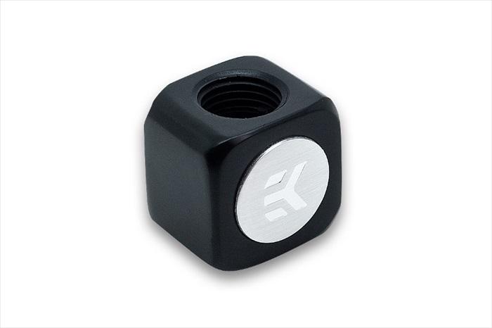 EK Water Blocks EK-AF T-Splitter 3F G1/4 - Black