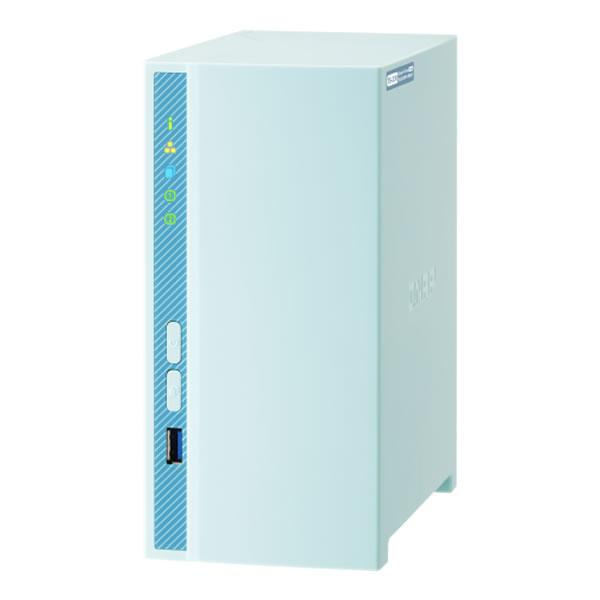 QNAP TS-230 3.5インチHDD 2台搭載可能