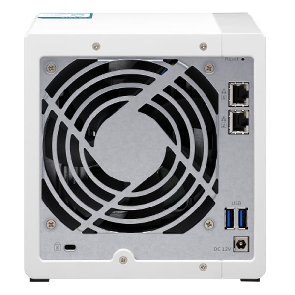 QNAP TS-431K 2.5/3.5インチHDD 4台搭載可能
