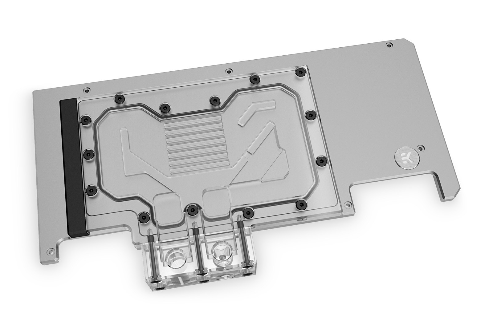 EK WaterBlocks EK-Quantum Vector Strix RTX 3080/3090 Active Backplate D-RGB - Plexi