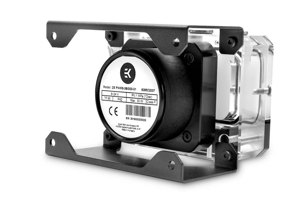EK WaterBlocks EK-Quantum Kinetic FLT 80 D5 PWM D-RGB - Plexi
