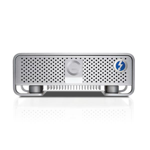 G-DRIVE Thunderbolt USB 3.0 4000GB Silver JP 0G03053 G-Technology