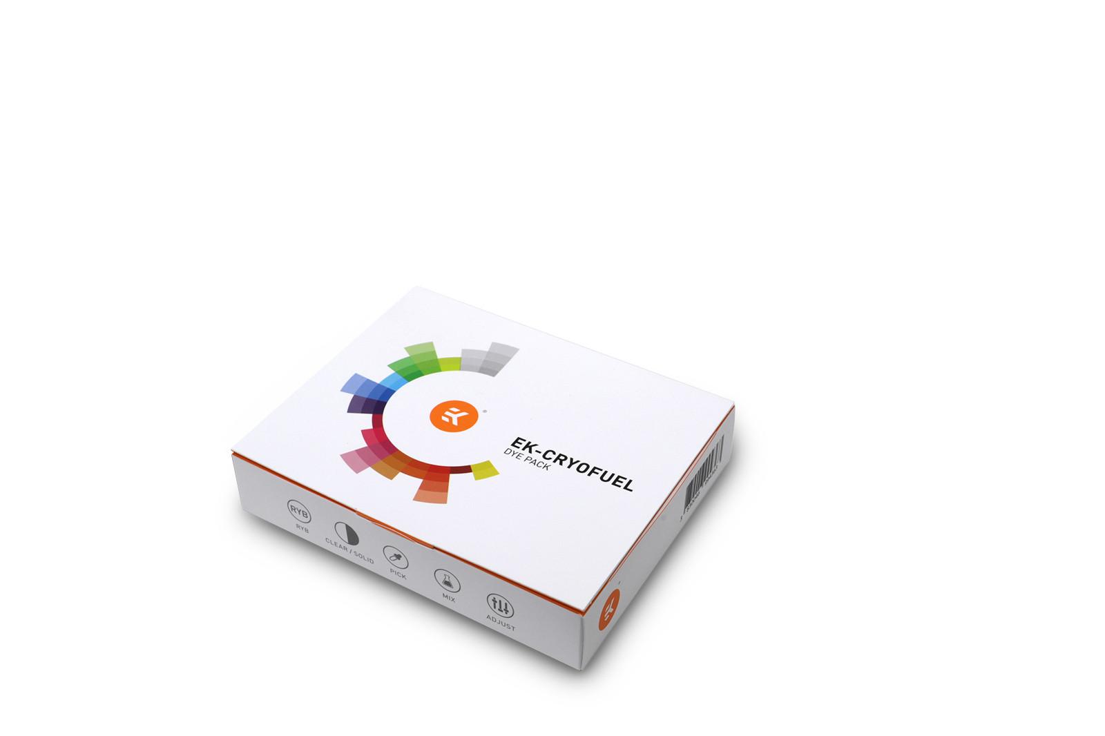 EK Water Blocks EK-CryoFuel Dye Pack
