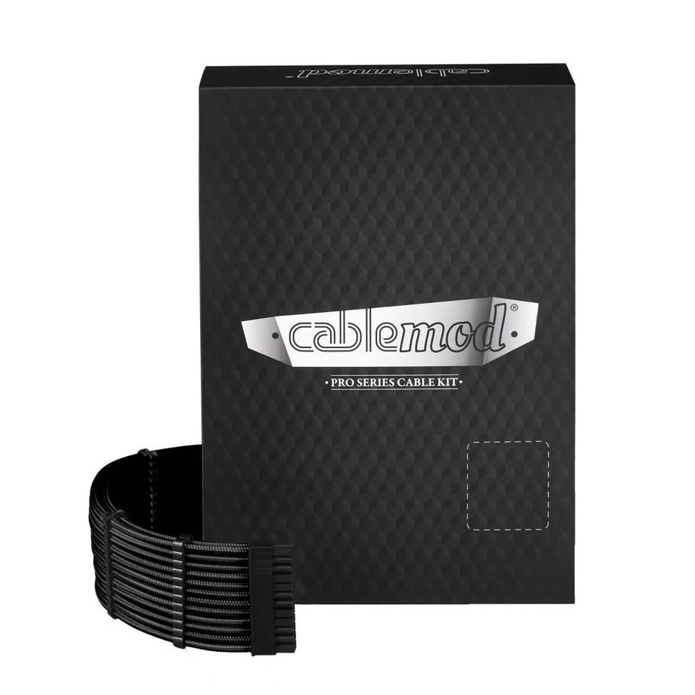 CableMod E-Series PRO ModMesh Cable Kit for EVGA G5 / G3 / G2 / P2 / T2 - BLACK (CM-PEV2-FKIT-NKK-R)