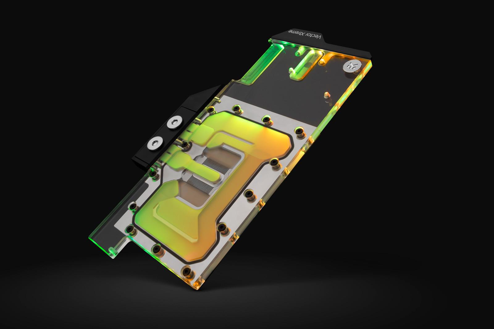 EK WaterBlocks EK-Quantum Vector Xtreme RTX 3080/3090 D-RGB - Nickel + Plexi