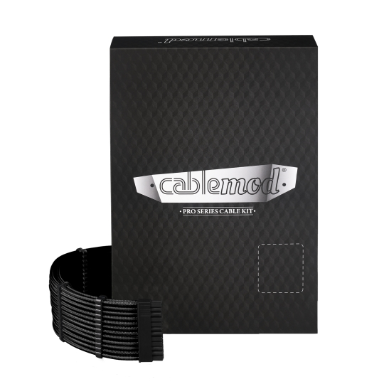 CableMod PRO ModMesh C-Series RMi & RMx Cable Kit - BLACK (CM-PCSR-FKIT-NKK-R)