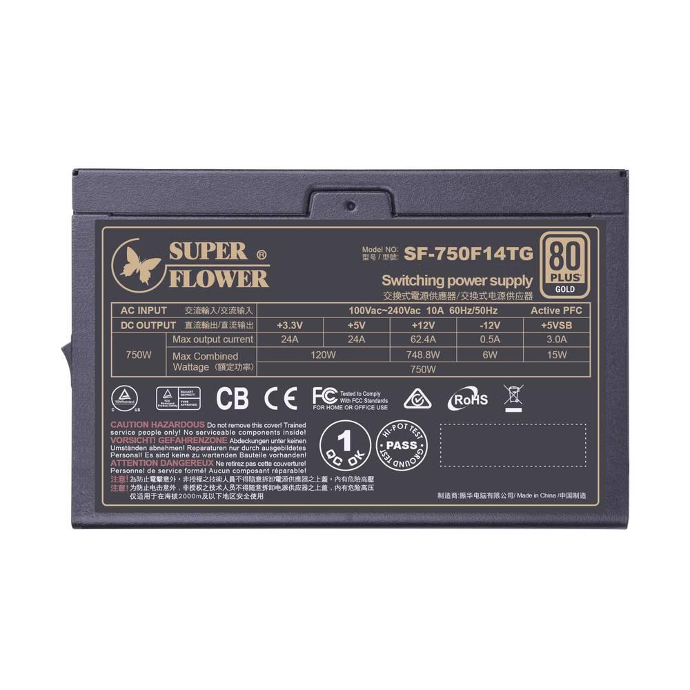 【取寄せ商品:通常納期約2〜3営業日】 SuperFlower LEADEX V G130X 750W