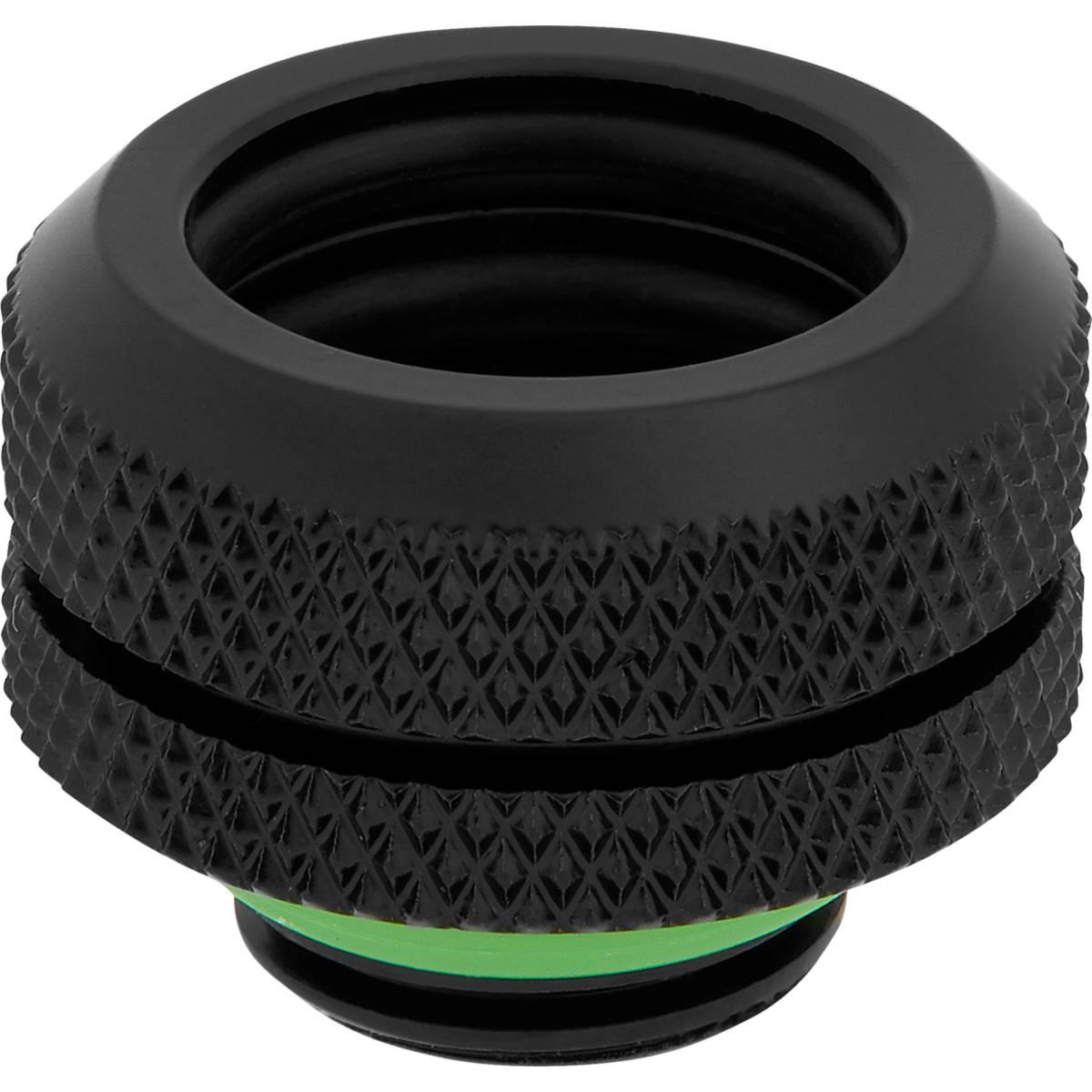 CORSAIR Hydro X Series XF Hardline 14mm OD Fitting Four Pack - Black