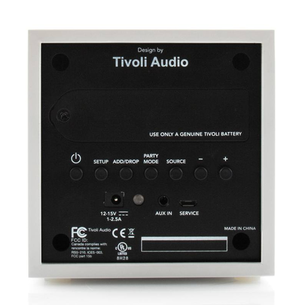 Tivoli Audio 「Cube」ポータブルBluetoothスピーカー