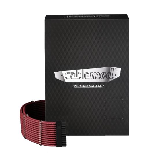 CableMod PRO ModMesh C-Series RMi & RMx Cable Kit - BLOOD RED (CM-PCSR-FKIT-NKBR-R)