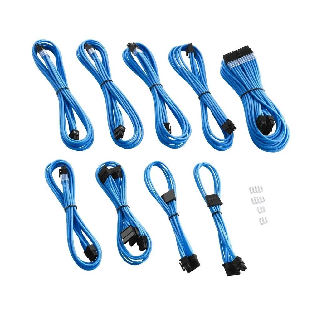 CableMod RT-Series PRO ModMesh Cable Kit for ASUS and Seasonic - LIGHT BLUE (CM-PRTS-FKIT-NKLB-R)