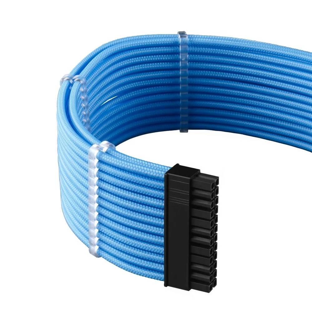 CableMod E-Series PRO ModMesh Cable Kit for EVGA G5 / G3 / G2 / P2 / T2 - LIGHT BLUE (CM-PEV2-FKIT-NKLB-R)
