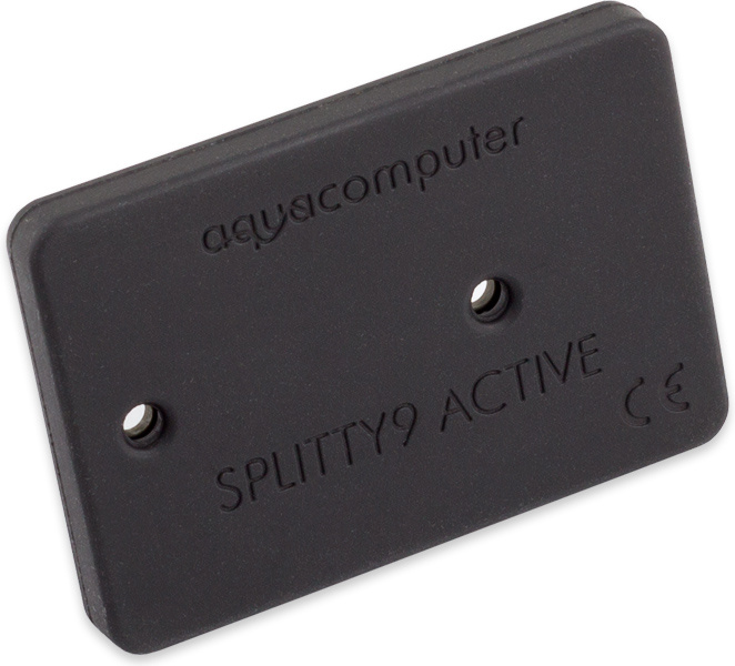 aquacomputer SPLITTY9 ACTIVE - active splitter for up to 9 PWM fans