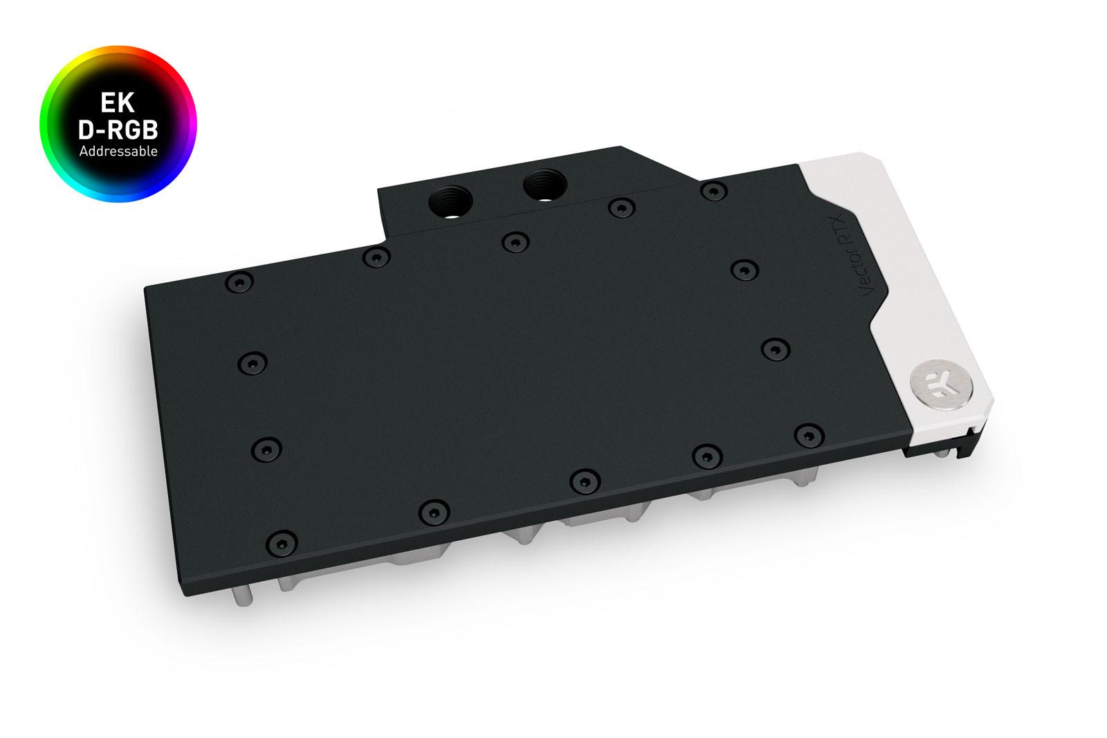 EK WaterBlocks EK-Quantum Vector RE RTX 3080/3090 D-RGB - Nickel + Acetal