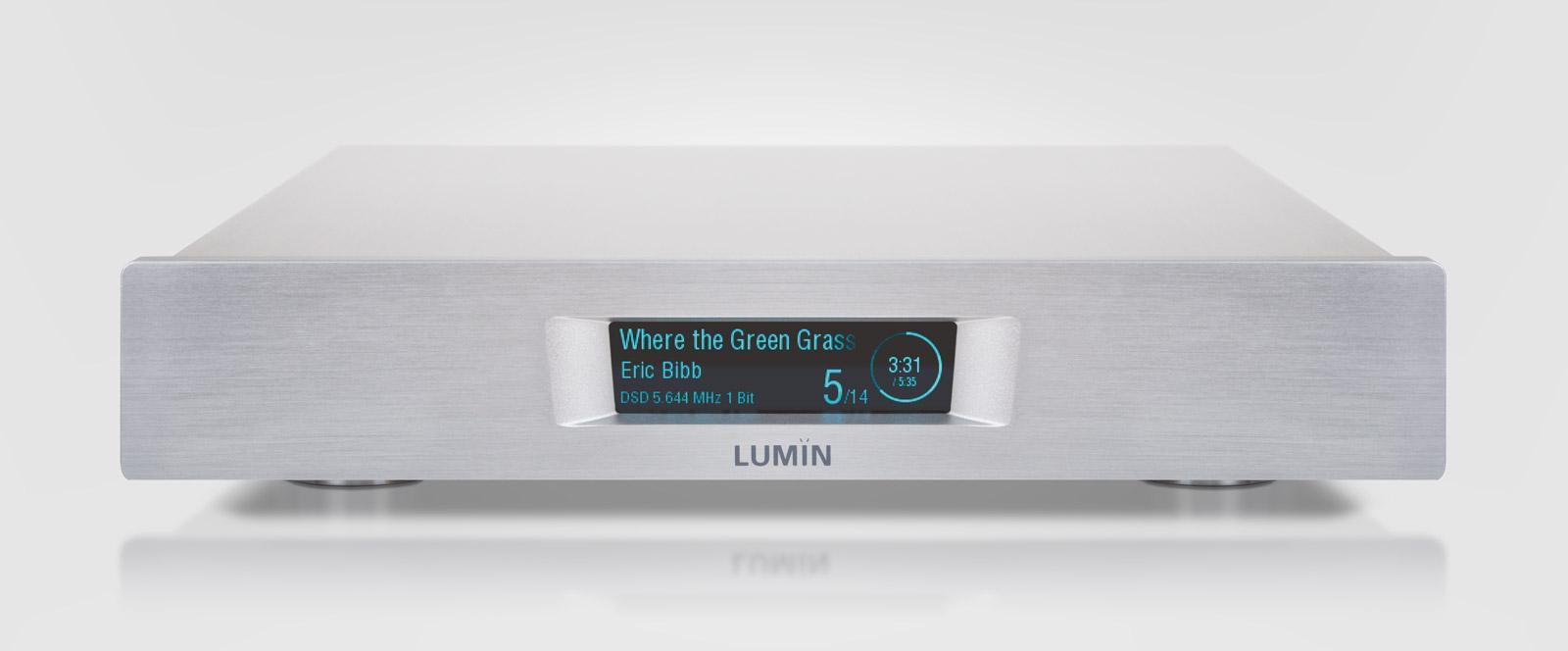 LUMIN 「D2」 DSD対応ネットワークプレイヤー