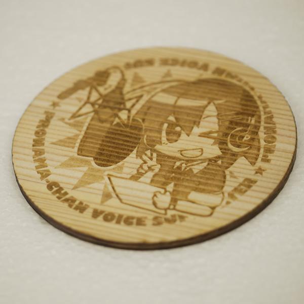 プロ生ちゃん 木製コースター
