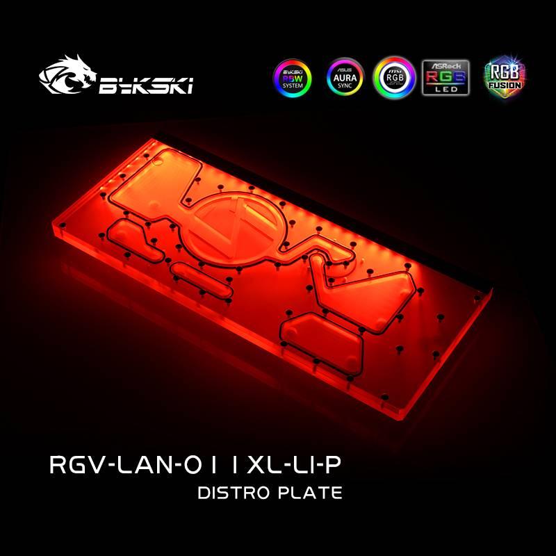 Bykski RGV-LAN-O11XL-LI-P DISTRO PLATE