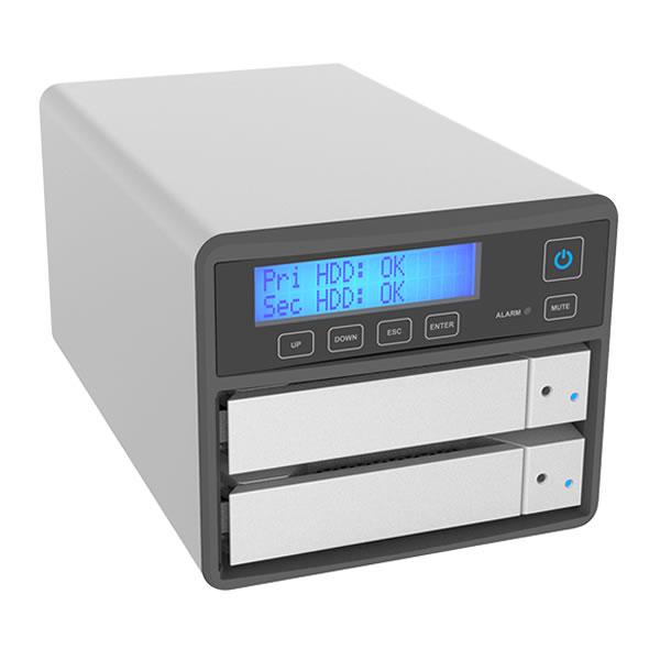 STARDOM SR2-B31 USB3.2 Gen2 Typs C SOHORAID 3.5/2.5インチドライブ 2台搭載可能