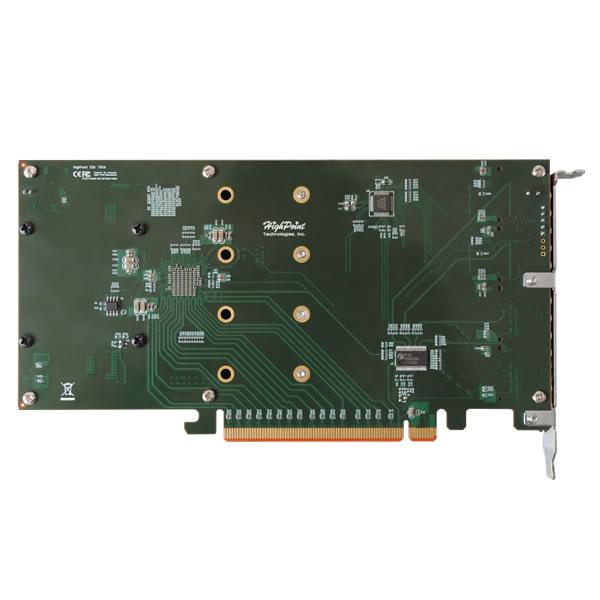 HighPoint SSD7101A-1 NVMe M.2 SSD RAID コントローラー