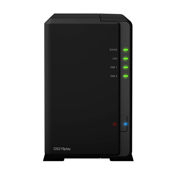 Synology DS218play 3.5インチHDD2台搭載可能