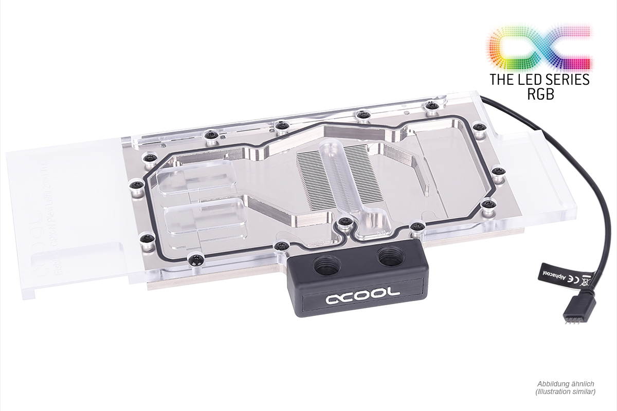 Alphacool Eisblock GPX-N Plexi Light Nvidia Geforce RTX 2080 M01