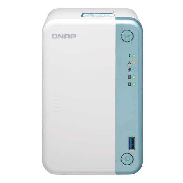 QNAP TS-251D 2.5/3.5インチHDD 2台搭載可能