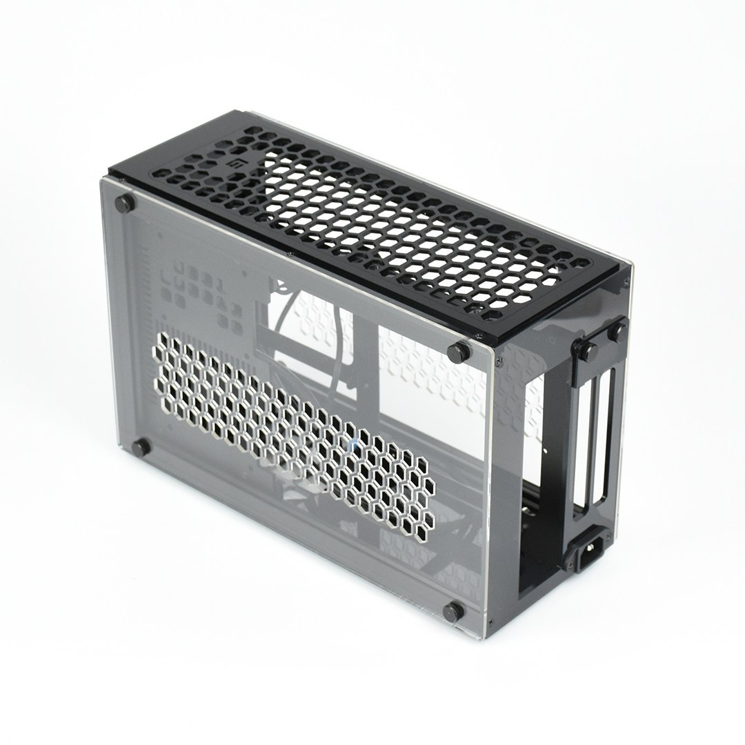 GEEEK A50 PLUS MINI-ITX CASE Matte Black