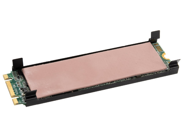 """Thermal Grizzly M.2 SSD用ヒートシンク""""minus pad8""""付 (TG-M2SSD-ABR)"""