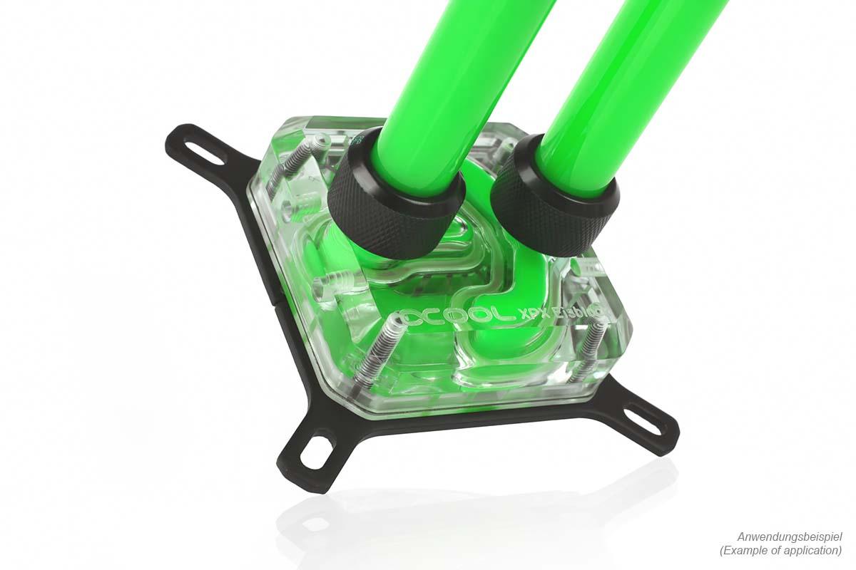 Alphacool Eiswasser Pastel Green UV-active premixed coolant 1000ml