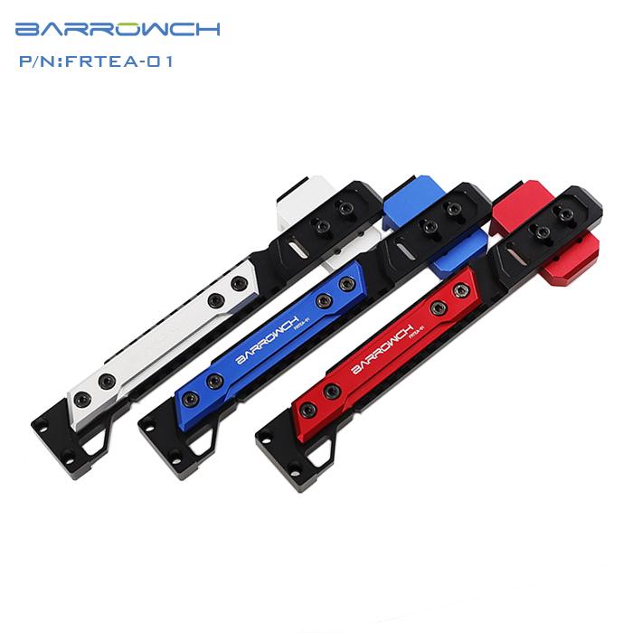 Barrowch independent graphics card bracket adjustable aluminum alloy bracket Graphics card-Mate Silver