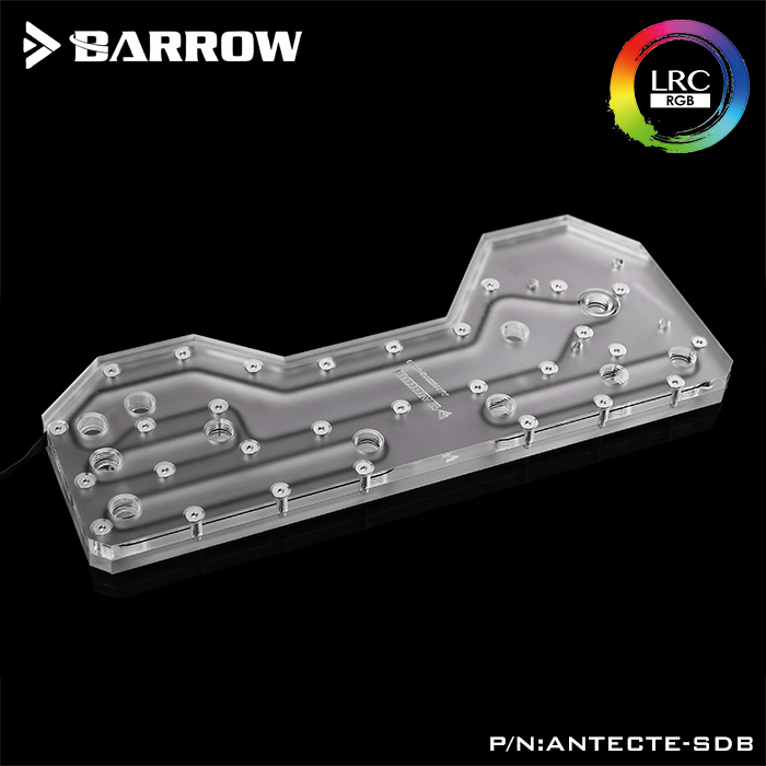 BARROW Barrow LRC2.0 waterway plate for Antec Torque case