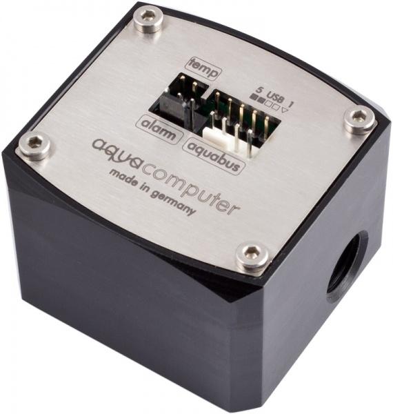 """aquacomputer Flow sensor """"high flow USB"""" G1/4"""