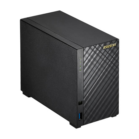 ASUSTOR AS3102T 3.5インチ HDD 2台搭載可能