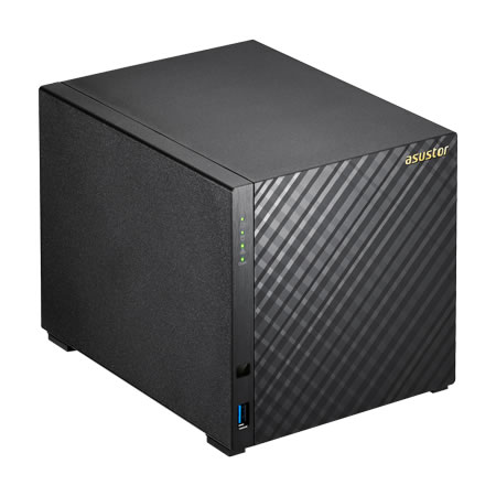 ASUSTOR AS3104T 3.5インチ HDD 4台搭載可能