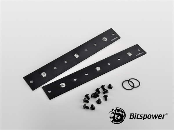 Bitspower Premium Lateral Plate Connection For Magic-Cube DDC TOP (Panel 3)