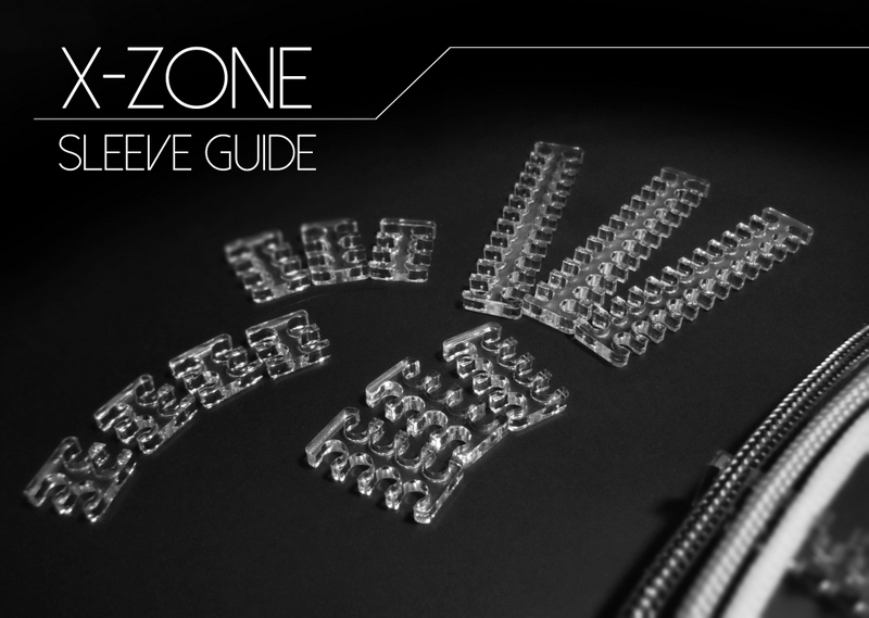 X-ZONE SLEEVE GUIDE 3mm用8pin【3mmスリーブ用】