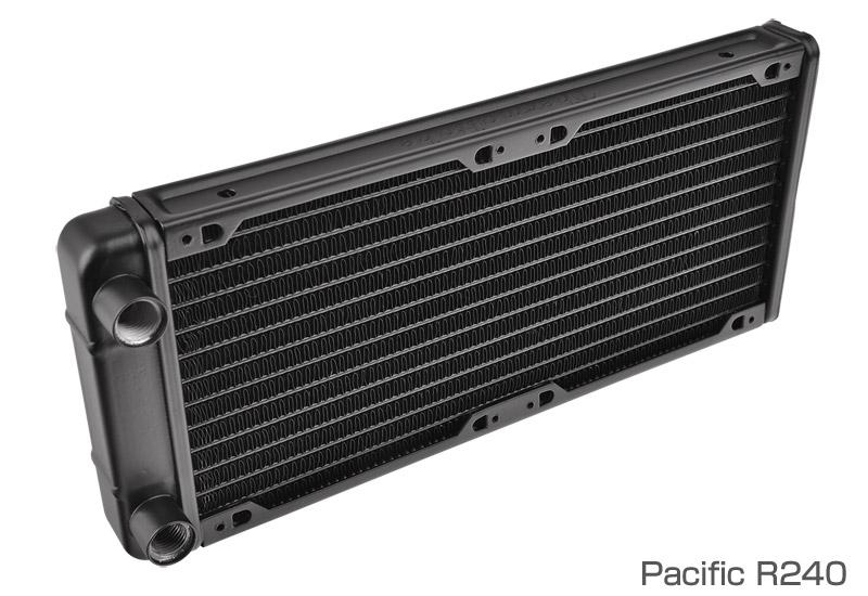 Thermaltake Pacific R240/DIY LCS/Radiator (CL-W009-AL00BL-A)