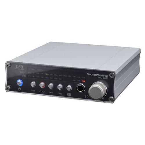 SoundWarrior SWD-DA20 USB D/Aコンバーター