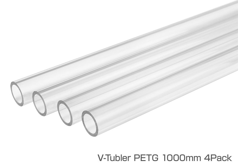 Thermaltake V-Tubler PETG Tube 16mm OD 1000mm 4Pack (CL-W116-PL16TR-A)