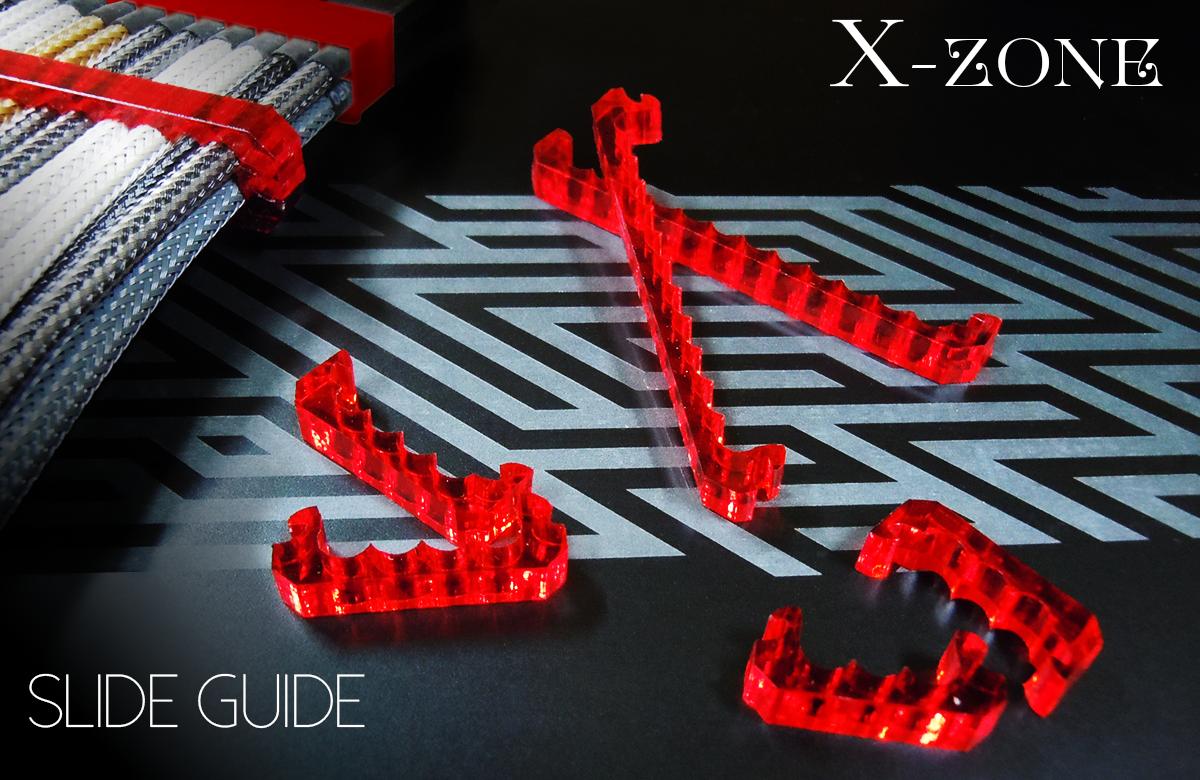 X-ZONE ルビーレッド Sleeve Holder 24Pin スライドラッチ式 4mm