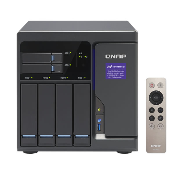 QNAP TVS-682 3.5インチ4台+2.5インチ2台搭載可能 【取り寄せ】