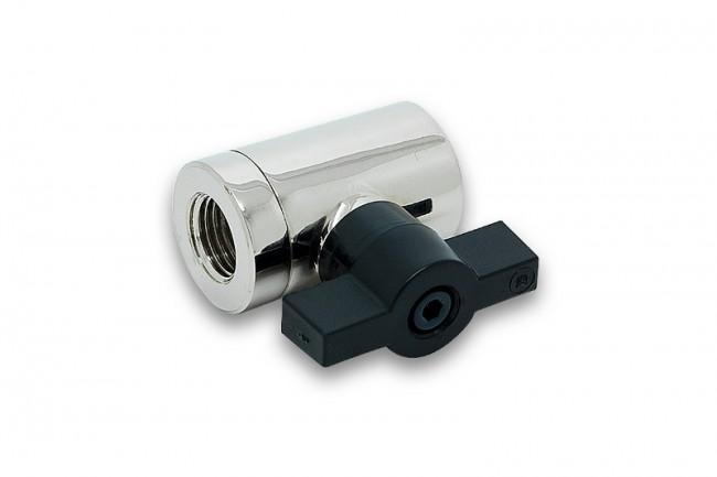 EK WaterBlocks EK-AF Ball Valve (10mm) G1/4 - Nickel
